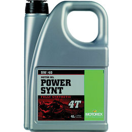 Motorex Power Synt 4T Full Synthetic Oil For 4-Stroke Engines 5W40 4 Liter Unpainted