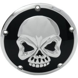 Drag Specialties Skull Derby Cover For Harley-Davidson 1107-0327 Unpainted