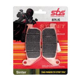 SBS Sinter Front Brake Pads Single Set Only Harley-Davidson 807H.HS Unpainted