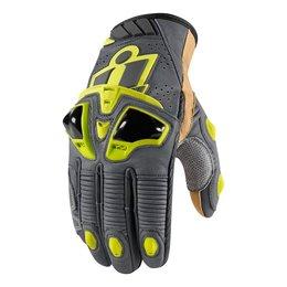 Hi-viz Icon Mens Hypersport Pro Short Leather Gloves 2014