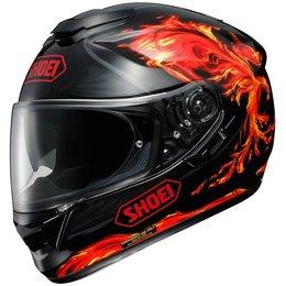 Red Shoei Gt-air Gtair Revive Full Face Helmet