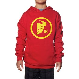 Thor Youth Boys Gasket Pullover Hoody Red