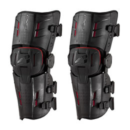 Black, Red Evs Rs9 Knee Braces 2014 Pair Black Red