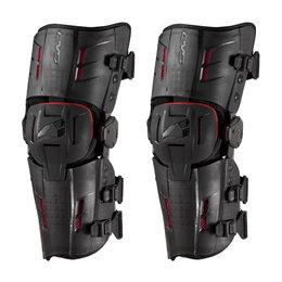 Black, Red Evs Rs9 Knee Braces 2014 Pair Black Red
