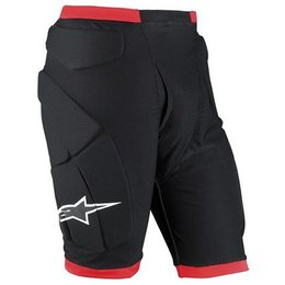 Black Alpinestars Compression Shorts