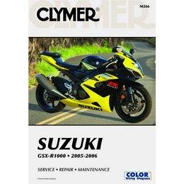 Clymer Repair Manual For Suzuki GSX-R1000 GSXR-1000 05-06