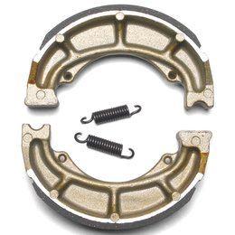 EBC Standard Rear Scooter Brake Shoes Single Set ONLY For Derbi Italjet 624 Unpainted