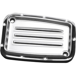 Covingtons Dimpled Clutch Master Cylinder Cover Harley Touring Chrome C1168-C Unpainted