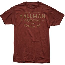 Thor Mens Hallman Collection Supply Premium Fit T-Shirt Red