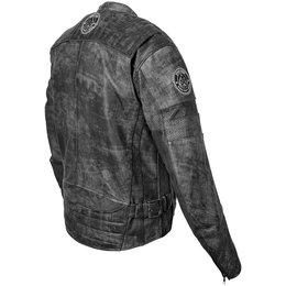Black Speed & Strength Speed Shop Leather Jacket 2013