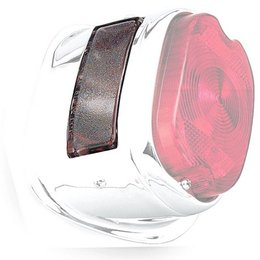 Clear Bikers Choice Early Tail Lamp License Lens Fl 56-72