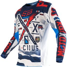 Fox Racing Youth Boys 180 Vicious Jersey Blue