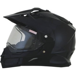 AFX FX39DS Dual Sport Snowmobile Helmet Black