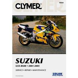 Clymer Repair Manual For Suzuki GSX-R600 GSXR-600 01-05