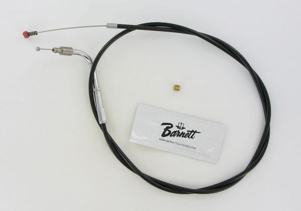 """Black  0651-0142 Drag Specialties 36 3//4/"""" Vinyl Idle Cable"""