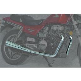 MAC 2:2 Dual Exhaust W/ Megaphone Mufflers Chrome For Honda CB400/450 CM400/450