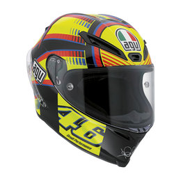 AGV Limited Rossi Corsa Soleluna Full Face Motorcycle Helmet W/Tear-Off Shield