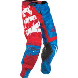 Fly Racing Youth Boys Kinetic Outlaw MX Pants Red