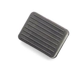 Black Bikers Choice Brake Pedal Rubber Pad For Harley Fx 71-85