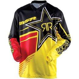 Yellow, Black Msr Mens Rockstar Jersey 2015 Yellow Black