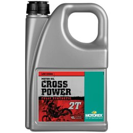 Motorex Cross Power 2T Full Synthetic Oil For 2-Stroke Engines 4 Liter