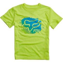 Fox Racing Kids Boys Mankato T-Shirt Yellow