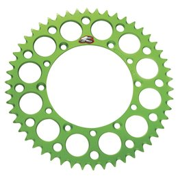 Renthal Aluminum Rear Sprocket 49T Green 112U-520-49 Green