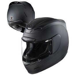 Black Icon Airmada Rubatone Full Face Helmet