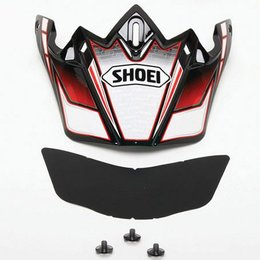 Red Shoei Replacement Visor For Vfx-w Sabre Helmet