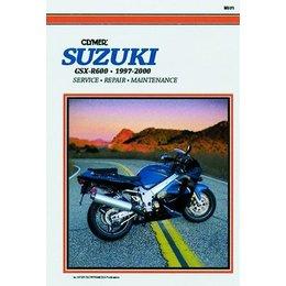 Clymer Repair Manual For Suzuki GSX-R600 GSXR-600 97-00
