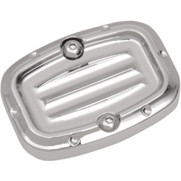 Covingtons Dimpled Rear Master Cylinder Cover Harley Touring Chrome C1157-C Unpainted