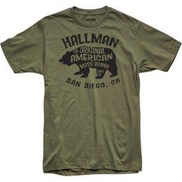 Thor Mens Hallman Collection Merica Premium Fit T-Shirt Green