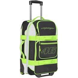 Ogio VR46 Valentino Rossi Layover Travel Bag Motorsports Rolling Carry-On Bag Black
