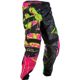 Fly Racing Youth Boys Kinetic Outlaw MX Pants Black