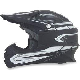 Flat Black Afx Mens Fx-21 Fx21 Multi Helmet