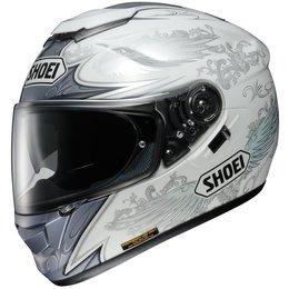 White Shoei Gt-air Gtair Grandeur Full Face Helmet