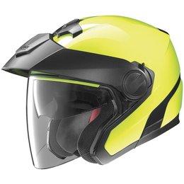 Fluorescent Yellow Nolan N40 N-40 Hi-visibility Open Face Helmet