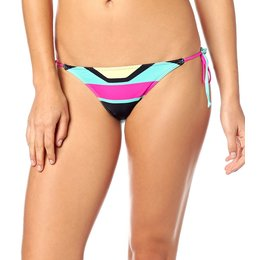 Fox Racing Womens Stereo Side Tie Bikini Bottom Pink
