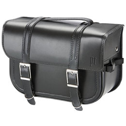 Black Power Trip Stealth Straight Saddlebags