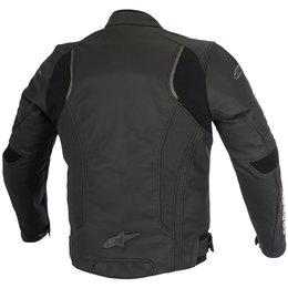 Alpinestars Mens Devon Airflow Armored Leather Jacket Black