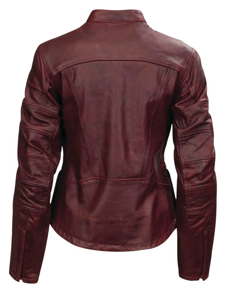 Womens leather riding jacket