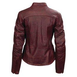 RSD Womens Maven Leather Riding Jacket Oxblood