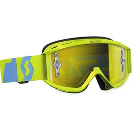 Scott USA Youth 89Si Pro MX Offroad Anti-Fog Goggles Blue