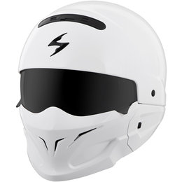 Scorpion Covert 3-in-1 Convertible Helmet White