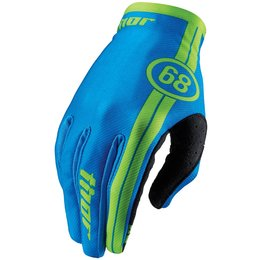Thor Youth Boys Void Course Gloves Blue