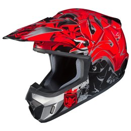 HJC CS-MX 2 CSMX II Graffed Motocross MX Off-Road Helmet Red
