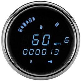 Blue Led Dakota Digital Speedometer Tachometer Gauge For Harley Fxd Xl
