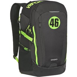 Ogio VR46 Valentino Rossi Apollo Motorsports School Travel Luggage Backpack Black