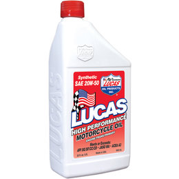 Lucas Oil Synthetic High Performance Oil 20W-50 32 Oz 10702 Unpainted