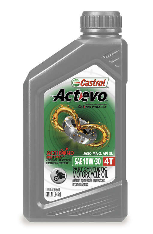 Castrol Actevo 4t Part Synthetic Motorcycle Oil